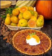 Satsuma Cane Syrup Pecan Pie